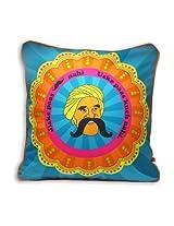 "The Bombay Store Polycot Cushion Cover - Jiske Pass L 16"" H 16"""