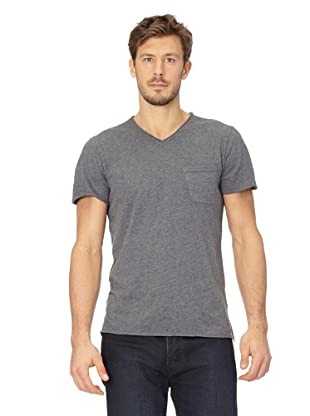 ANALOG Herren T-Shirt Beretta Shortsleeve (Charcoal Heather)