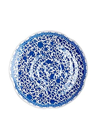 Q Squared NYC Blue & White Heritage Salad Plate