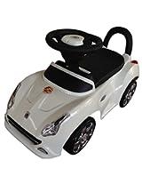 EZ' PLAYMATES BABY RIDE ON SEDAN CAR WHITE