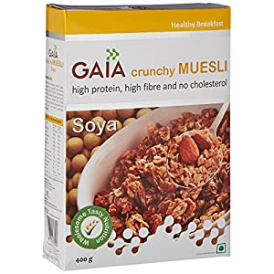 Gaia Soya Muesli, 400G