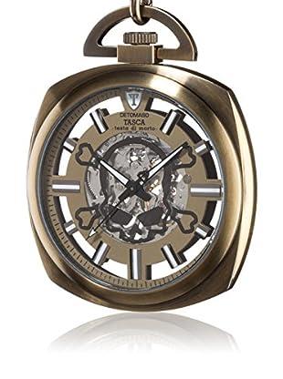 DETOMASO Uhr mit Handaufzug Testa bronze