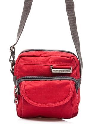 Dockers Bags Bandolera Hustle Bustle (Rojo)