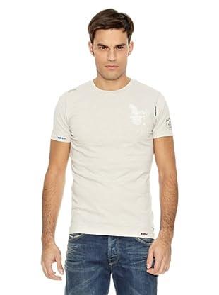Pepe Jeans London Camiseta Velvet (Gris)