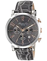 Kenneth Cole Dress Sport Analog Grey Dial Men'S Watch - 10020825