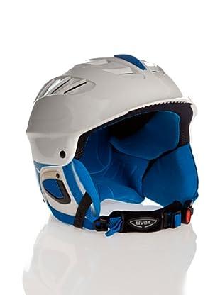 Uvex Casco Ski X - Ride Motion Air (Blanco / Azul)