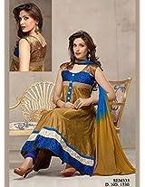 New Arrival Mahendi Long Length Cotton Anarkali Suit