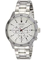 Seiko Analog White Dial Men's Watch - SKS515P1