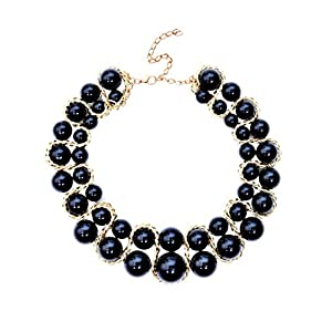 Pataaka Black Swan Pearl Necklace for Women