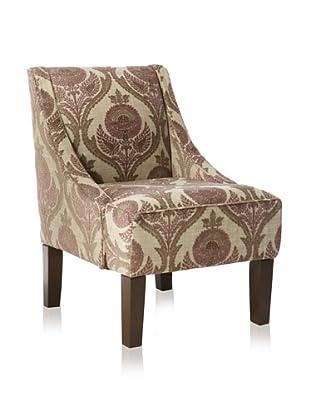 Skyline Swoop Arm Chair (Desky Wisteria)