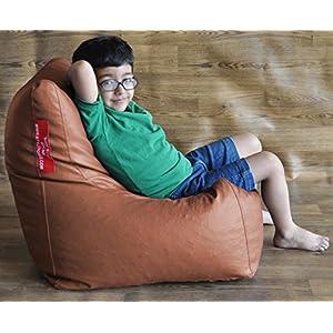 Style Homez Tan Chair Bean Bag