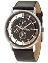 Kenneth Cole Transparent Analog Grey Dial Men's Watch IKC1853