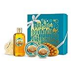 The Body Shop Festive Picks Wild Argan Oil Bath Gift Set Box