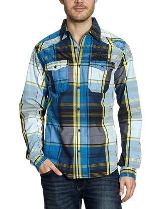 JACK & JONES Camisa Hunk (Turquesa)
