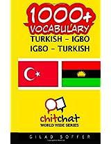 1000+ Turkish - Igbo, Igbo - Turkish Vocabulary