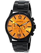Caravelle New York Sport Analog Champagne Dial Men's Watch - 45A108