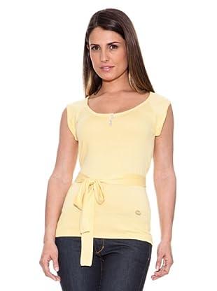 Caramelo Jersey Cinturón (Amarillo)