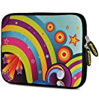 Amzer 10.5-Inch Designer Neoprene Sleeve Case Pouch for Tablet, eBook and Netbook - Funky Ritz (AMZ5080105)
