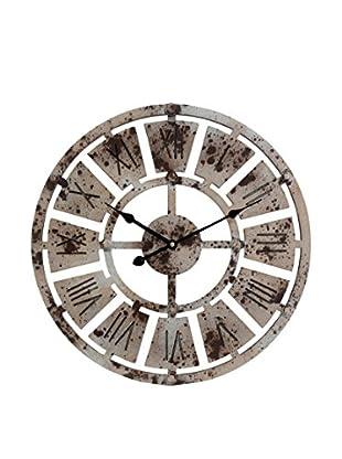 Reloj De Pared Plata