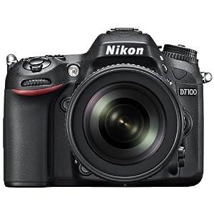 Nikon D7100 24.1MP Digital SLR Camera (Black) with AF-S 18-105mm VR II Kit Lens and AF-S DX VR Zoom-NIKKOR 55-200mm f/4-5.6G IF-ED Twin Lens 4GB Card, Camera Bag