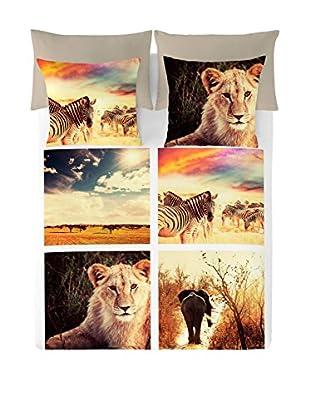 NATURALS Juego De Funda Nórdica Serengueti