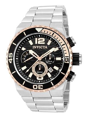 Invicta 12995 - Reloj de Caballero cuarzo metálico Plata