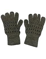 Graceway Unisex Gloves (4GL2, Beige, Free Size)