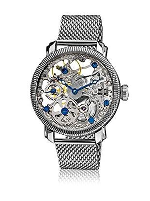 Akribos XXIV Mechanische Uhr silber 43 mm
