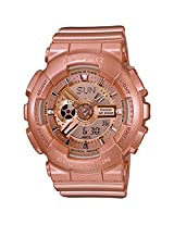 Casio Baby-G Analog-Digital Brown Dial Women's Watch - BA-111-4ADR (BX019)
