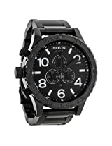 Nixon 51-30 Chrono All Black Men's Watch - Nxa083001