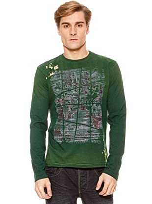 SideCar Camiseta Print (Verde)