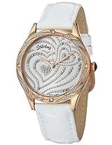 Stuhrling Original Amour Analog Silver Dial Women's Watch - 582.2245P2