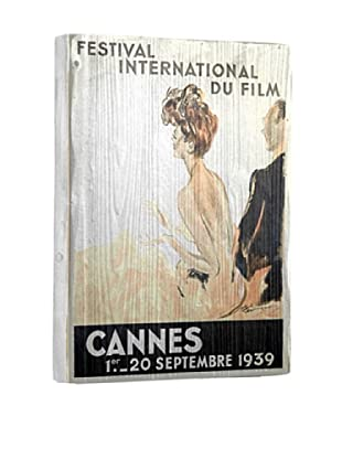 Artehouse Cannes Film Reclaimed Wood Sign