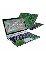 "MightySkins Protective Skin Decal Cover for Acer Aspire V5-122P Laptop with 11.6"" touch screen Sticker Skins Peacock"