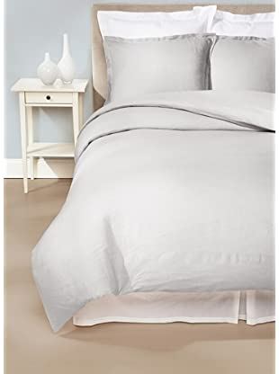 Peacock Alley Sanibel Duvet Cover Set (Fog)
