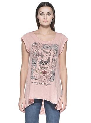 Zu Element Camiseta Greensleeves (Rosa)