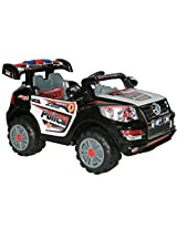 Brunte Battery operated Rideon Police car J218