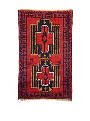 Eden Alfombra Beluchistan Rojo/Azul/Amarillo 87 x 140 cm