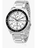Ap4010-54A Silver/White Analog Watch CITIZEN