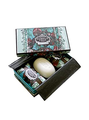 Portus Cale Black Orchid Soap Set