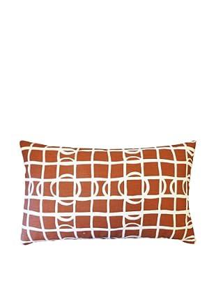 Pluto Throw Pillow, Brown