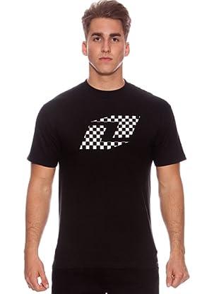 One Industries Camiseta Checkred (Negro)