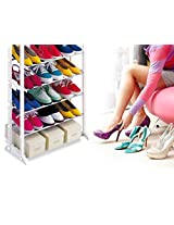 AND Retails Amazing Shoe Footwear Organizer Rack - Stores upto 30 Pairs