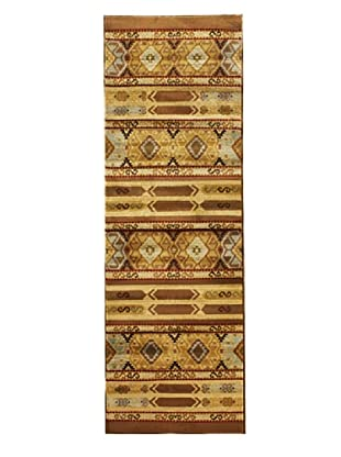 Inspiration Tribal Modern Rug, Brown, 2' 8