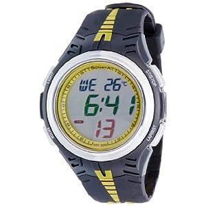 Sonata Super Fibre Digital Grey Dial Men's Watch - NF7965PP04J