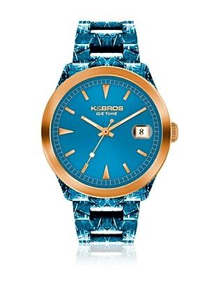 K&Bros  Reloj 9545 (Turquesa)