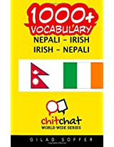 1000+ Nepali - Irish, Irish - Nepali Vocabulary