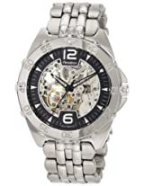 Armitron Men's 20/4768SVSV Stainless Steel Automatic Dress Watch