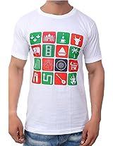 MudFlap Cotton T-Shirt for Men (Size-40)