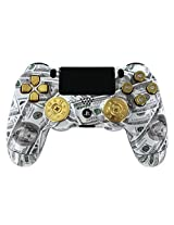 Money Bullets Ps4 Custom Un Modded Controller Real Shot Gun Thumbsticks And 9mm Bullet Buttons Exclusive Design